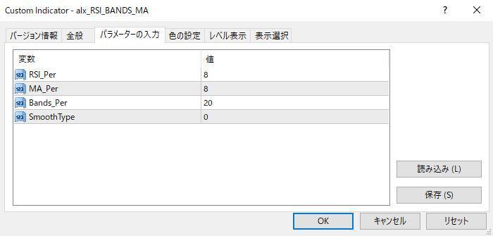 alx_RSI_BANDS_MAパラメーター画像