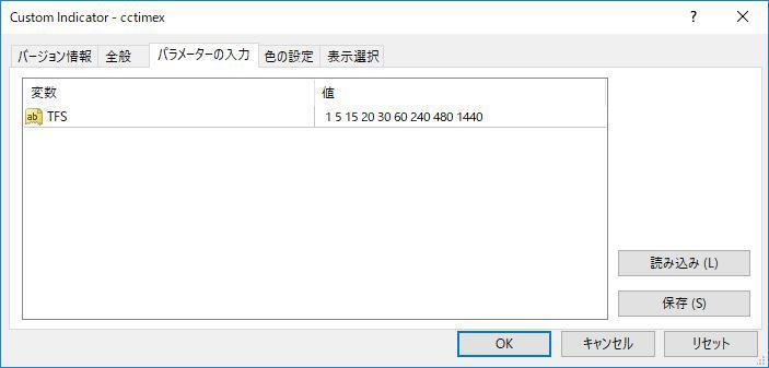 cctimexパラメータ画像