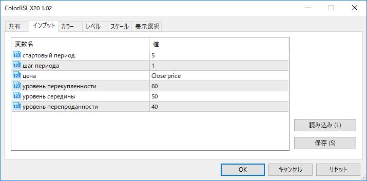 ColorRSI_X20パラメーター画像