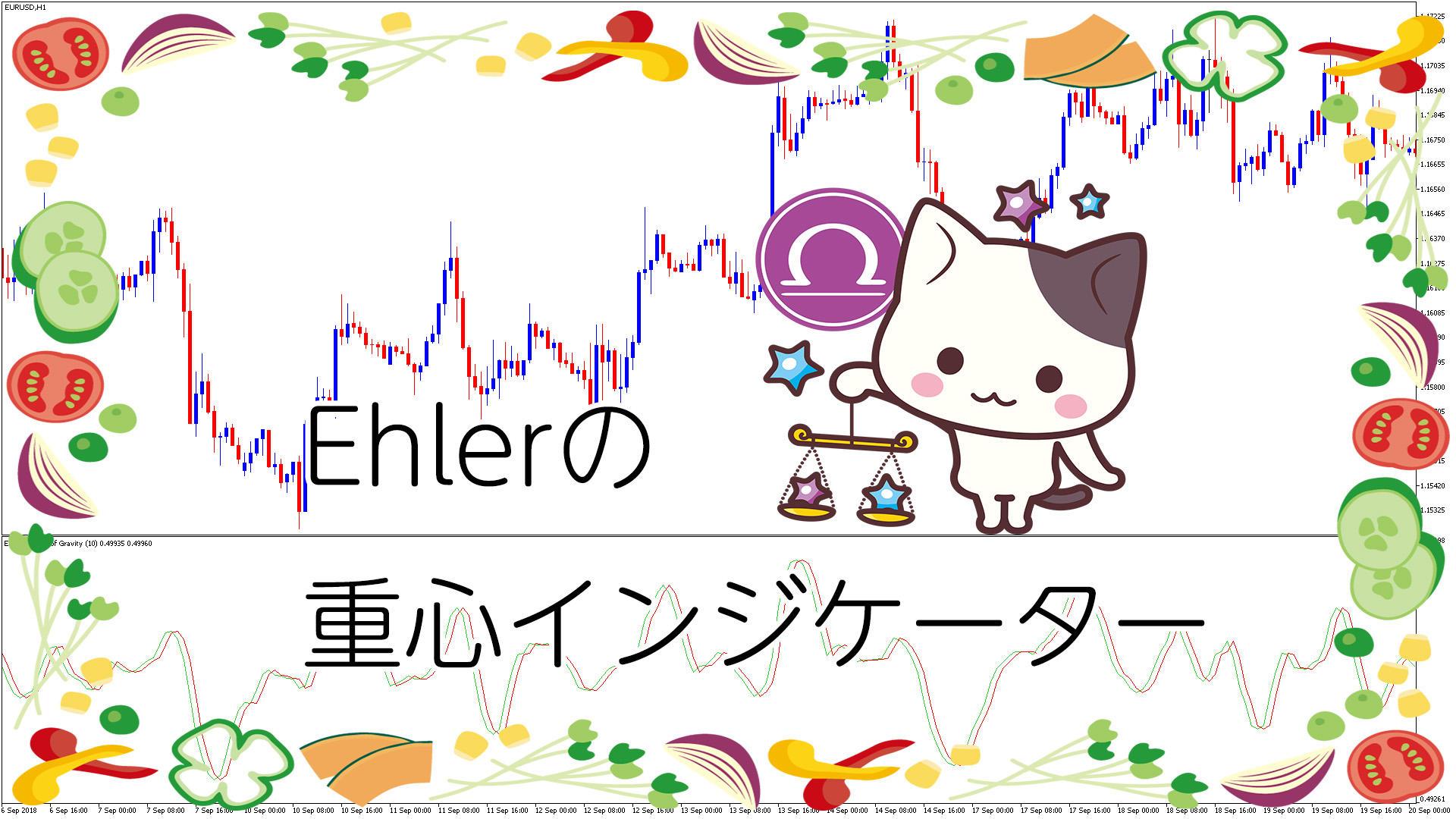 Ehlerの重心インジケーターを表示するMT5インジケータ-「Ehlers_CG」