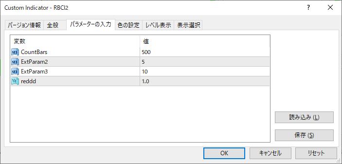 RBCI2パラメーター画像