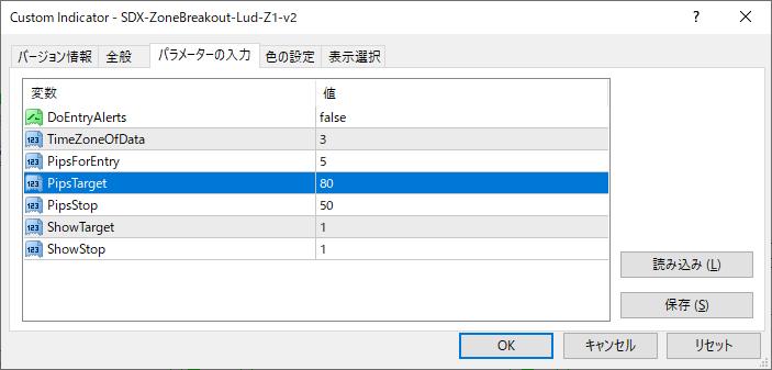SDX-ZoneBreakout-Lud-Z1-v2パラメーター画像