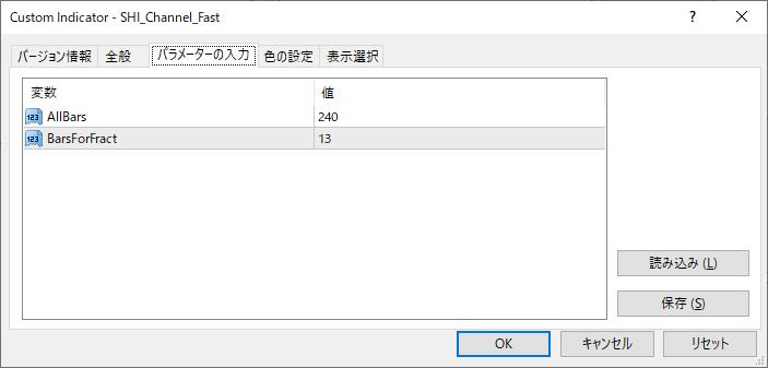 SHI_Channel_Fastパラメーター画像
