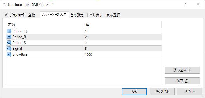 SMI_Correct-1パラメーター画像