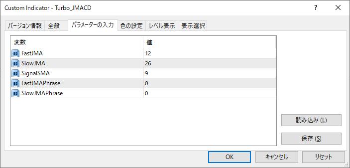 Turbo_JMACDパラメーター画像
