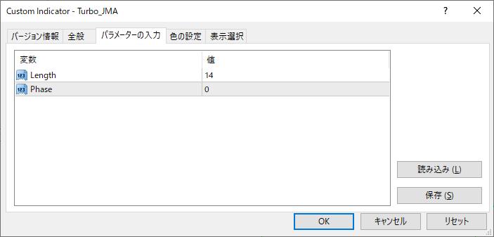 Turbo_JMAパラメーター画像