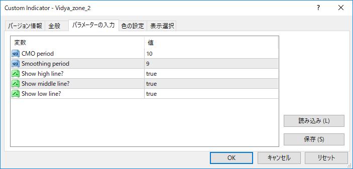 Vidya_zone_2パラメーター画像