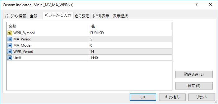 VininI_MV_MA_WPR(v1)パラメーター画像