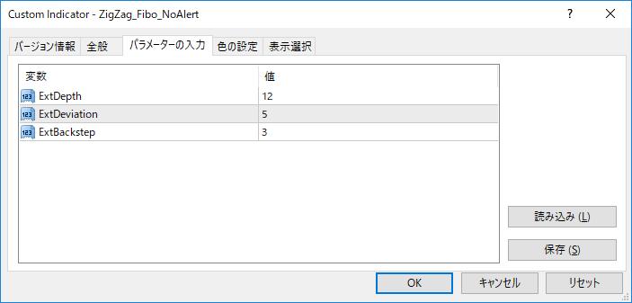 ZigZag_Fibo_NoAlertパラメーター画像