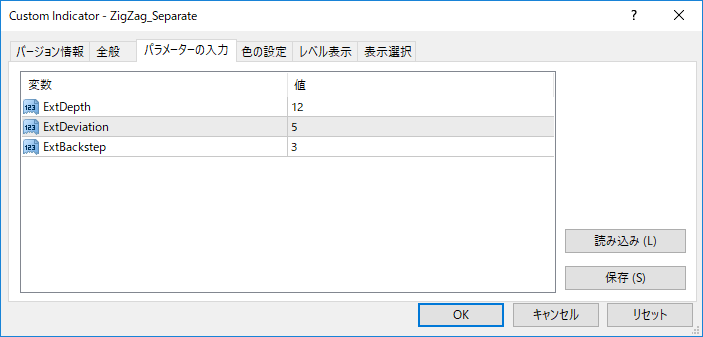 ZigZag_Separateパラメーター画像