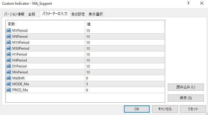 MA_Supportパラメーター画像