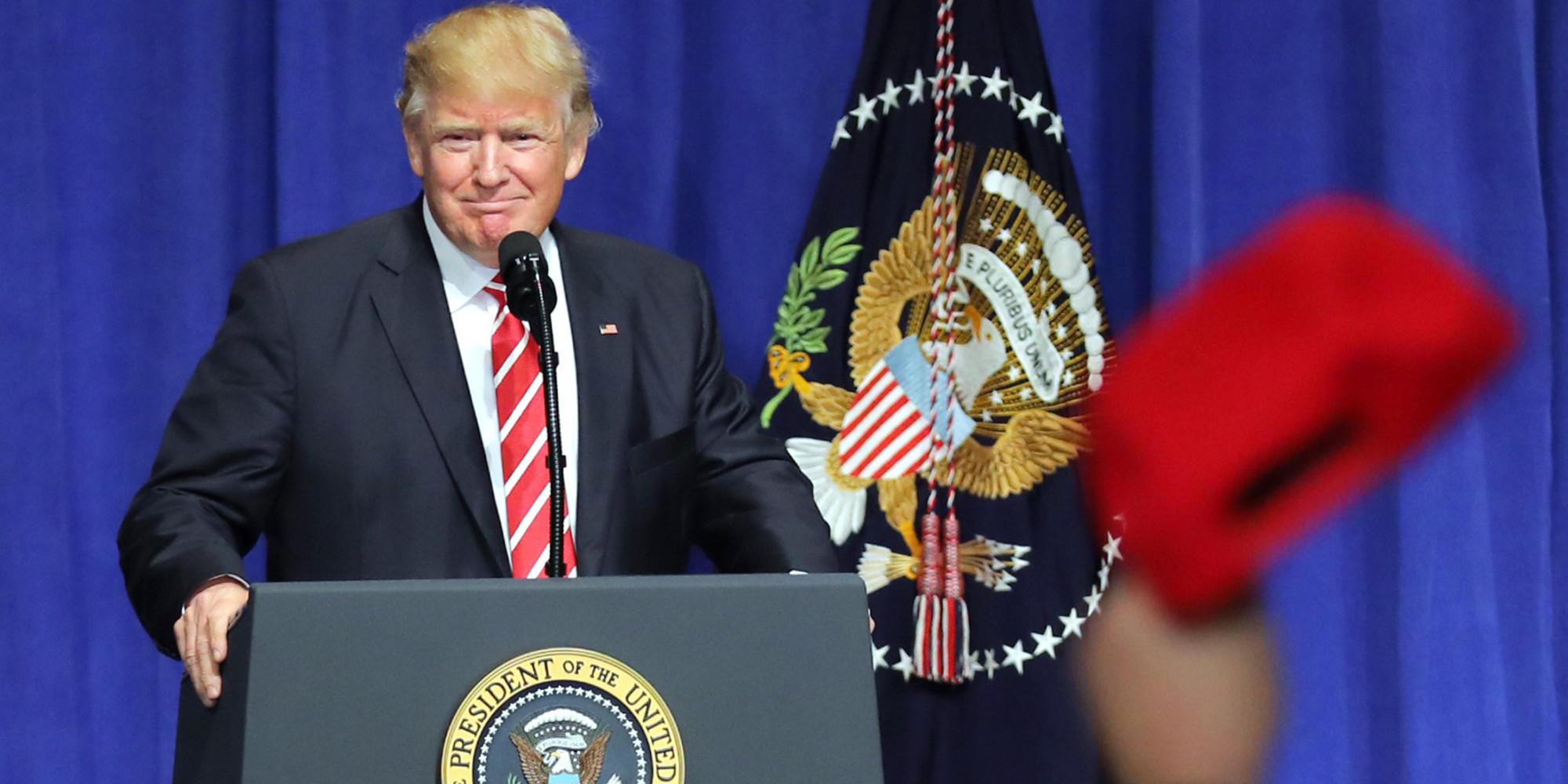 トランプ大統領就任一か月