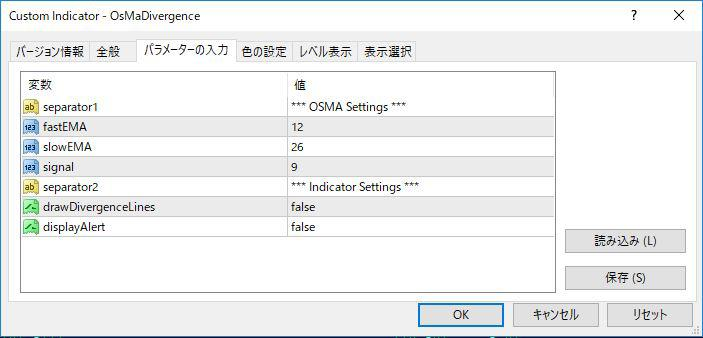 OsMaDivergenceパラメーター画像